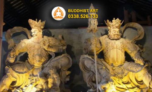 Tứ đại Thiên vương trong đạo Phật là những ai