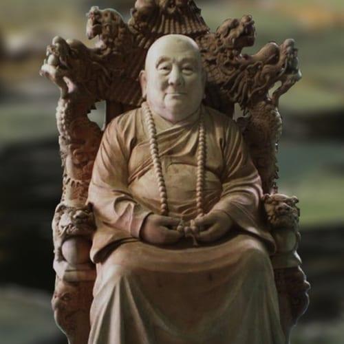 Tượng hòa thượng 2