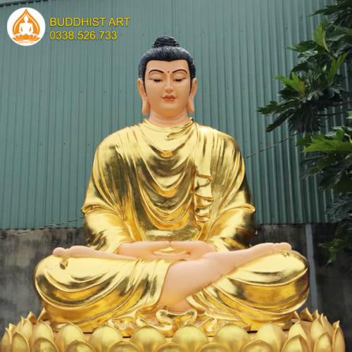 Tượng Phật Bổn Sư Thích Ca cao 350 cm an vị tại Khánh Hòa