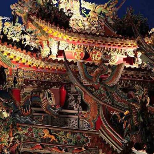 Kiến trúc trên mái chùa 5