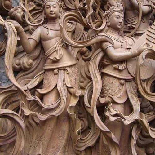 Phù điêu Phật Giáo 4