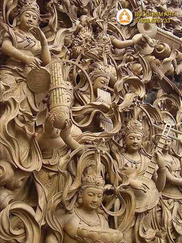 Phù điêu Phật Giáo 6