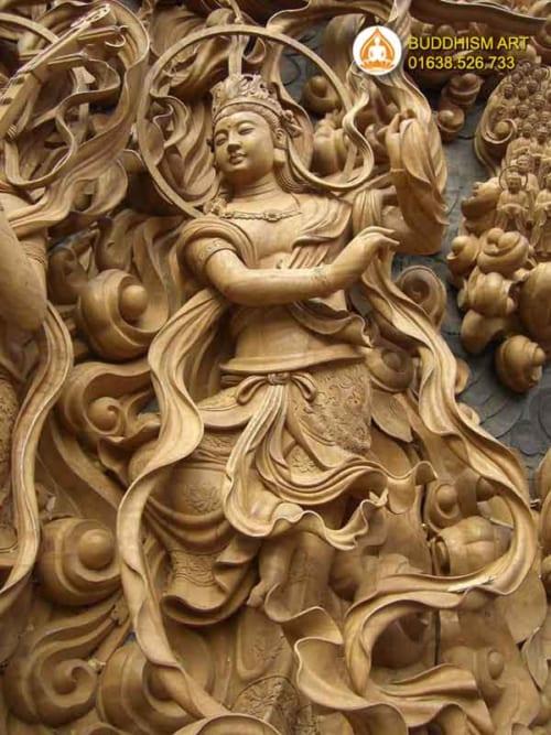 Phù điêu Phật Giáo 7