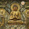 Phù điêu Phật Giáo 8