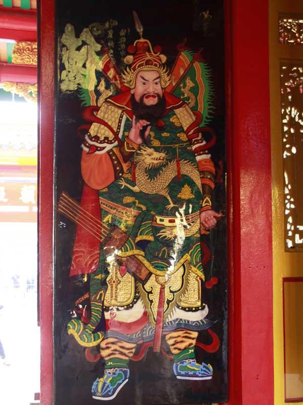 Tranh vẽ Phật Giáo Hội Quán Ôn Lăng 2