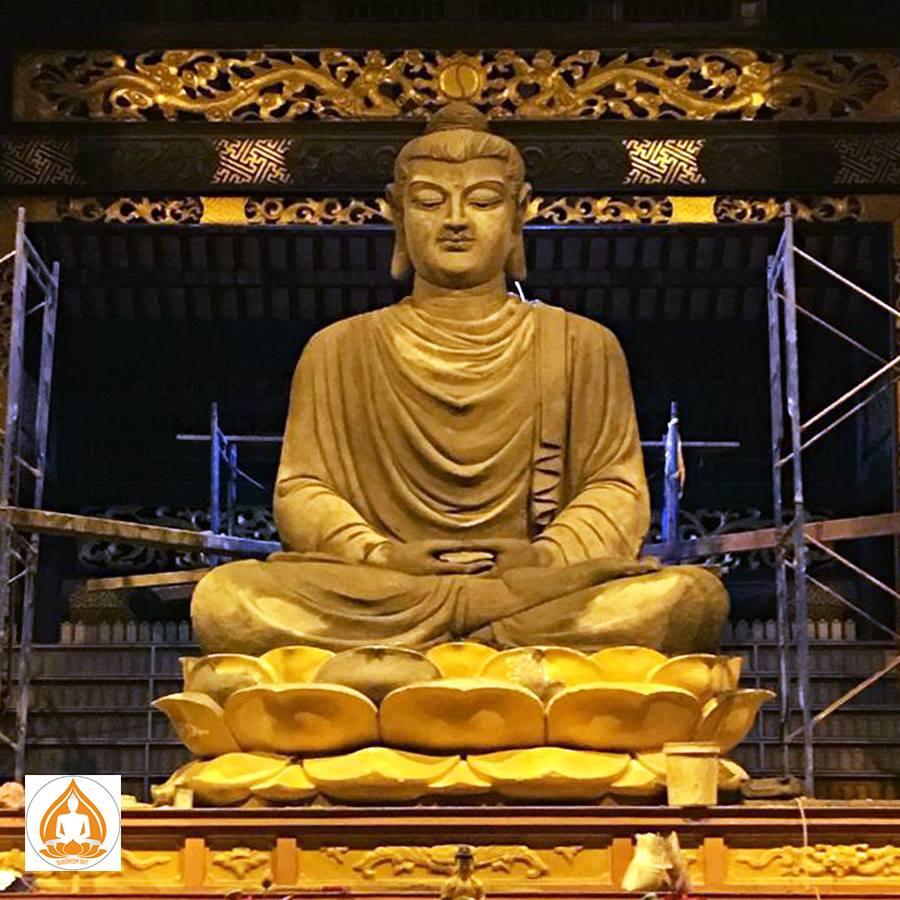 tượng Tam Bảo Phật Thiền Viện Khánh An