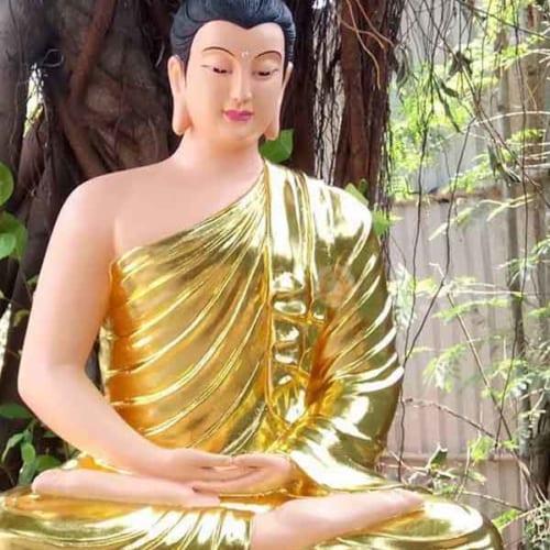 mẫu tượng bổn sư thích ca giả đồng hoặc vẽ diện