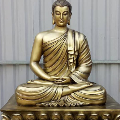 Tượng Phật Thích Ca giả đồng cao trên 1 mét