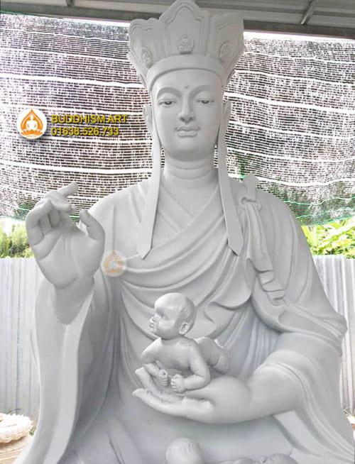 Tượng Địa Tạng Vương Bồ Tát Lập Đàn Cầu Siêu Thai Nhi 3