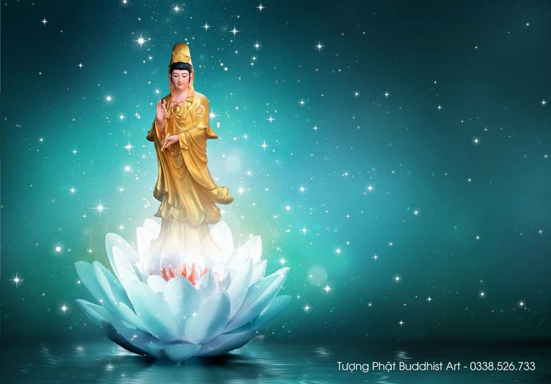 Hình Phật Quan Thế Âm Bồ Tát đẹp