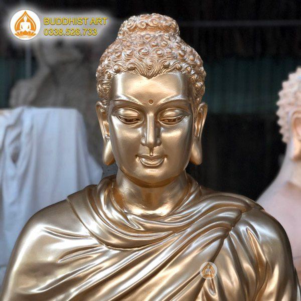 Tượng Phật Thích Ca Bằng Đồng đẹp