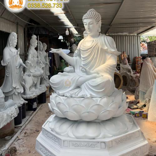 tượng phật dược sư đẹp composite hoặc đồng