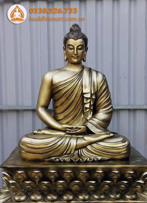 Tượng Phật Thích Ca bằng đồng