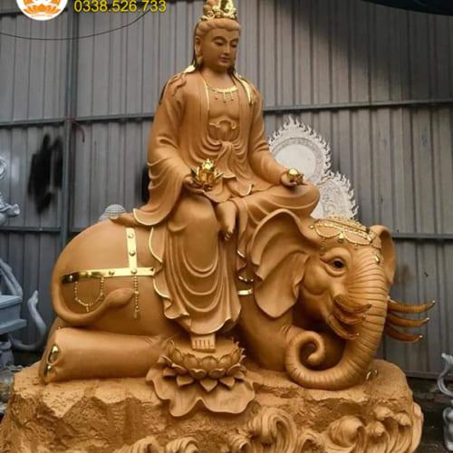 Tượng Phổ Hiền Bồ Tát 180 cm đẹp