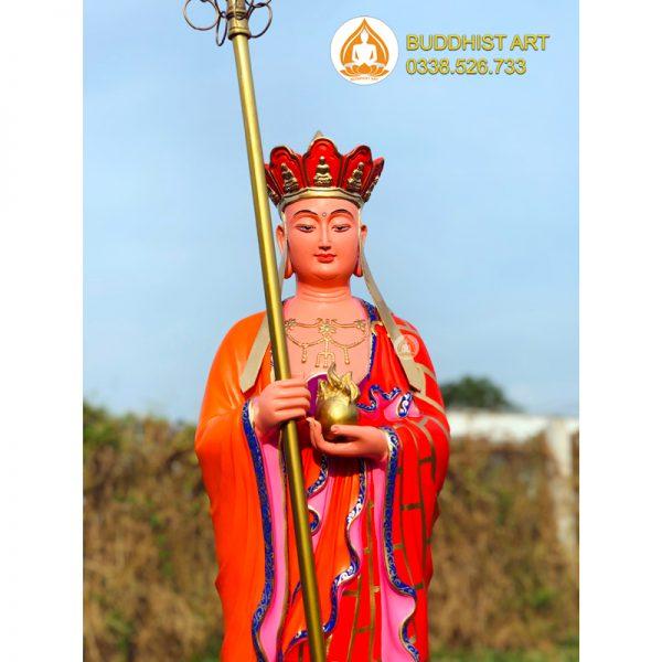 Tượng địa tạng vương bồ tát do Buddhist Art sáng tác cao 120cm