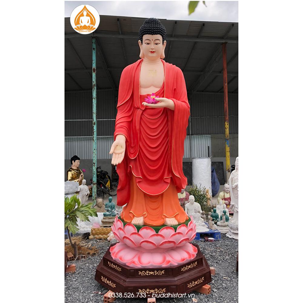 tượng Phật A Di Đà composite