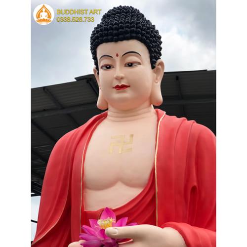 Tượng Phật A Di Đà đẹp nhất bằng composite