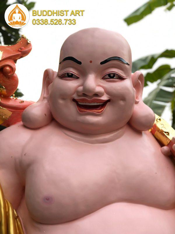 Mặt tượng Phật Di Lặc
