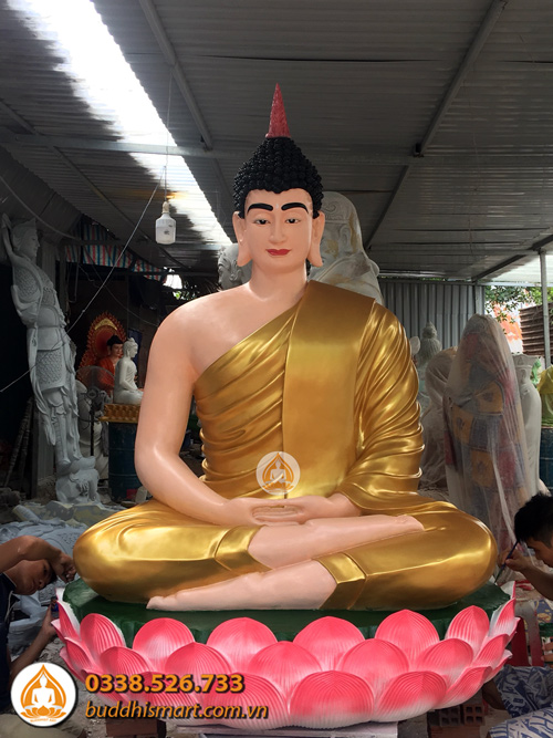 tuong phat thich ca bang composite